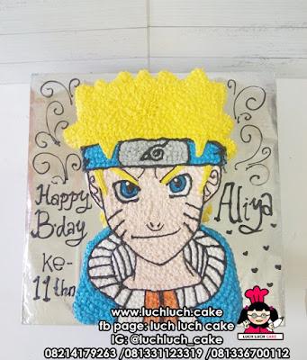 Kue Tart Naruto 3d Buttercream Cake