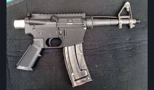 Arma de fogo produzida em impressora 3D