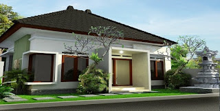 Desain Rumah Minimalis Gaya Bali Yang Elegan