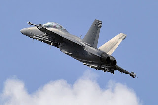 Jet Tempur F/A-18 Hornet AS