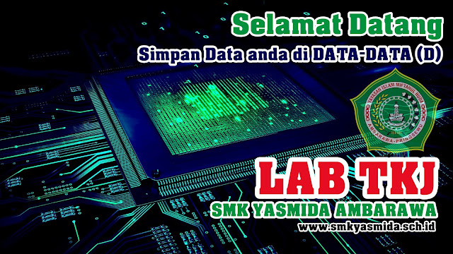 Design Background Desktop Lab Komputer SMK Yasmida Ambarawa