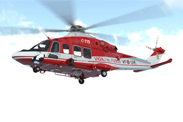 Italy National Fire Corps AW139
