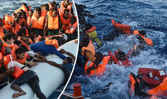 how many refugees have died crossing the mediterranean