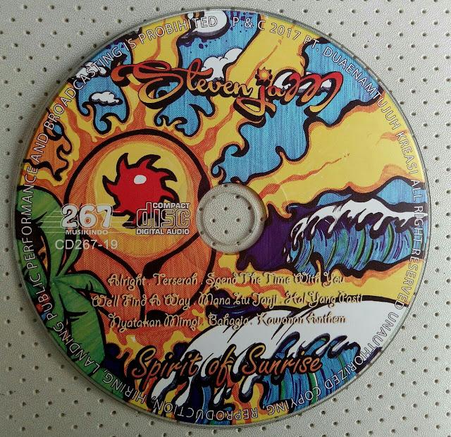 Cover Album Steven Jam