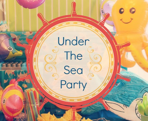 Fin-Tastic Under The Sea Party