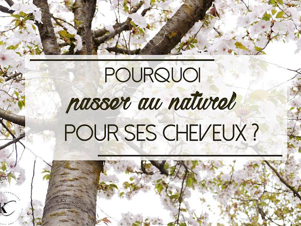 POURQUOI PASSER AU NATUREL POUR SES CHEVEUX ? | DE BEAUX CHEVEUX AU NATUREL