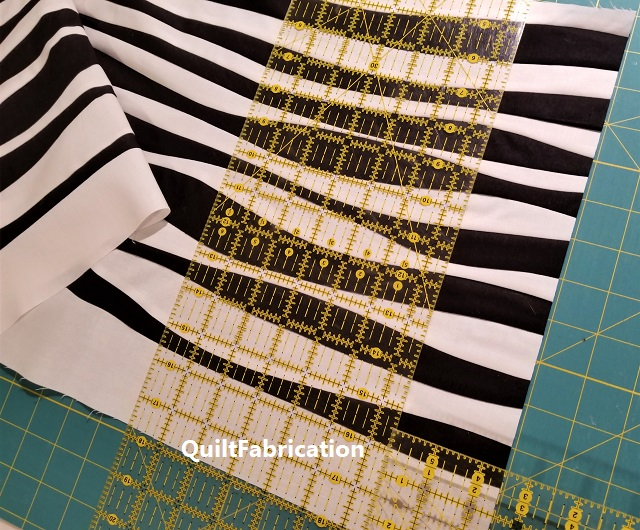 improv stripes cut into strips