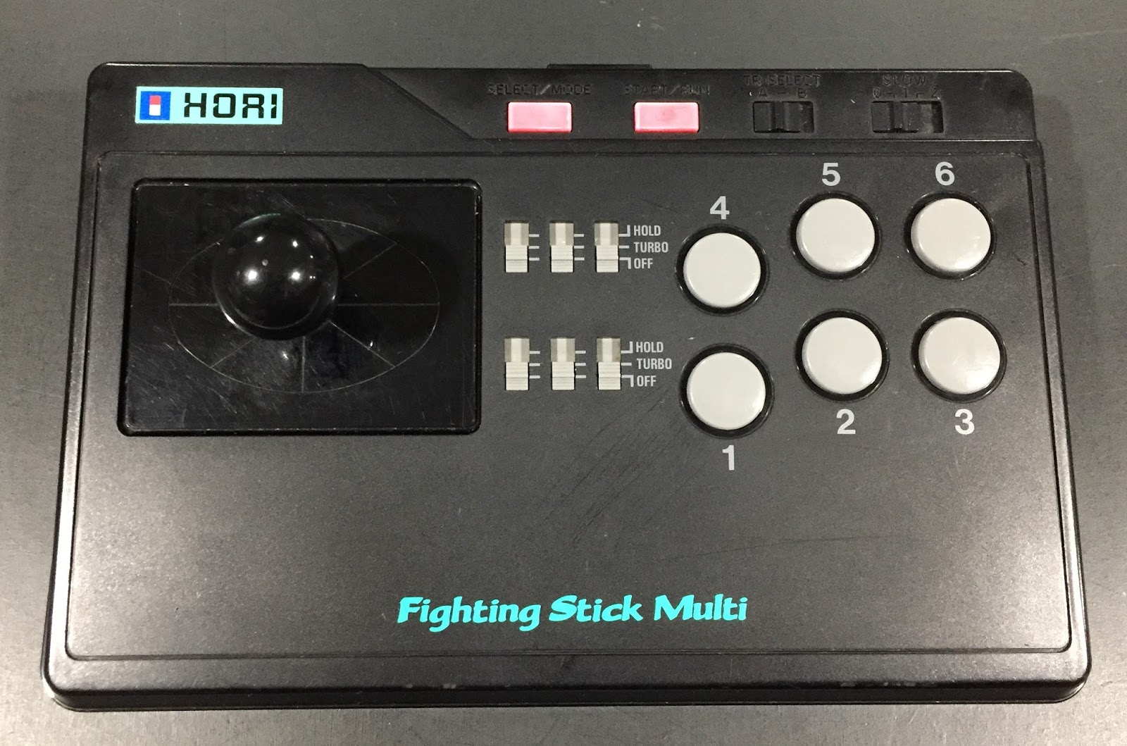 Retro Gamer Randomness: Hori Fighting Stick Multi for PC