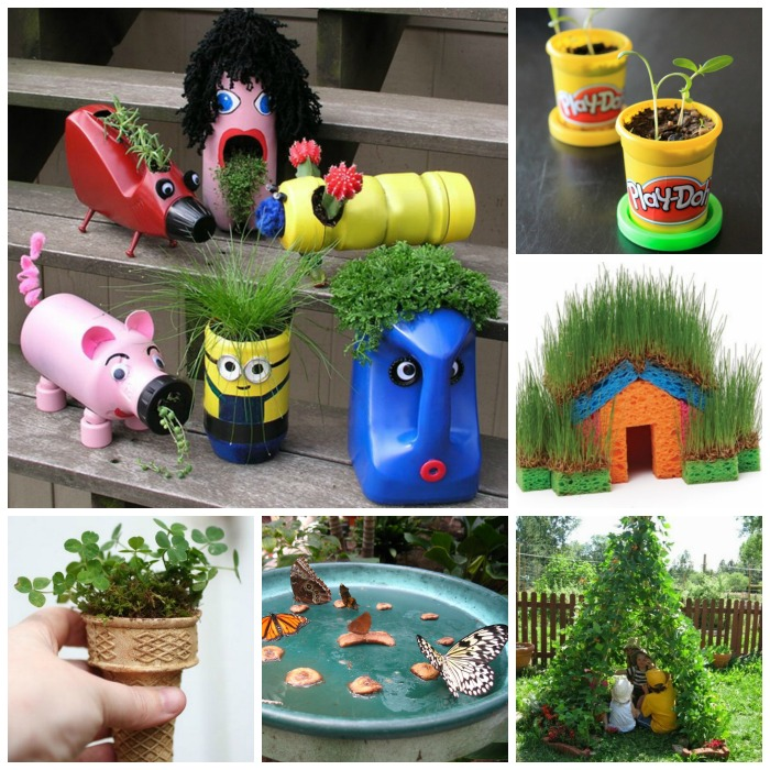 Kids Garden Ideas fairy gardens for all 50 Awesome Gardening Activities For Kids So Many Fun Ideas I Can