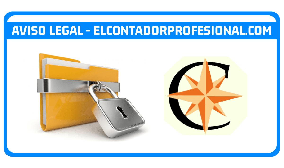 Aviso Legal - elcontadorprofesional.com