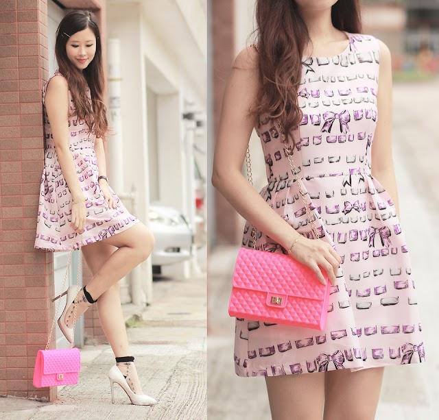 Váy họa tiết xinh cho mùa hè tỏa sáng