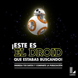 [Sorteo] Participa y Gana el Droid BB-8 #StarWarsVII