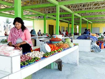 Warga Kota Bobong Keluhkan Mahalnya Harga Ikan dan Sembako