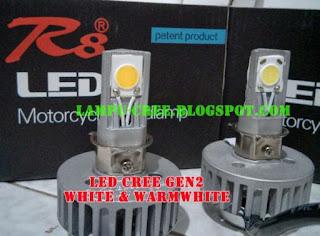 Cara Menggunakan LED pada Lampu Depan Motor_