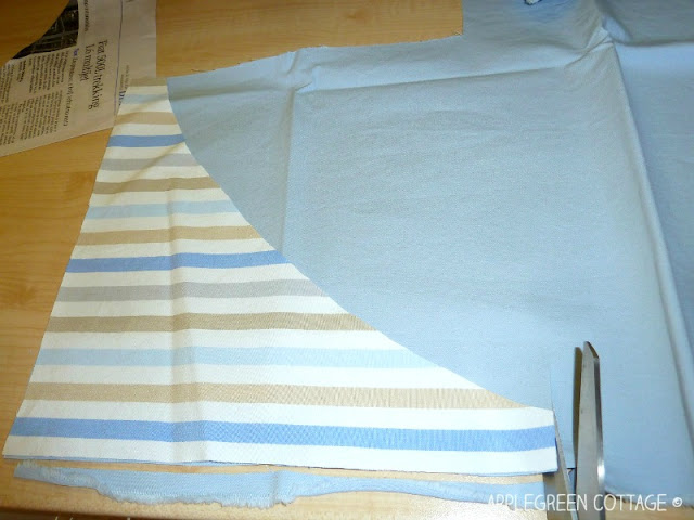 how to make a bandana bib from a free pattern