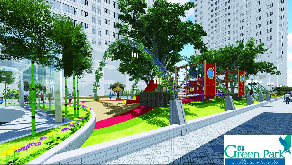 Tiện ích đẳng cấp duy nhất của dự án PD Green Park