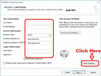 how to add gmail account on outlook 2010