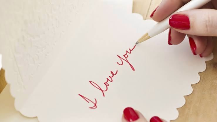 7 steps to write a perfect english love letter