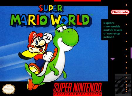 Box Super Mario World - Super Nintendo