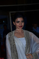 Samantha Ruth Prabhu cute in Lace Border Anarkali Dress with Koti at 64th Jio Filmfare Awards South ~  Exclusive 053.JPG
