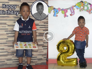 NH - Master Afolabi Joseph Olanrewaju Is 2 today...