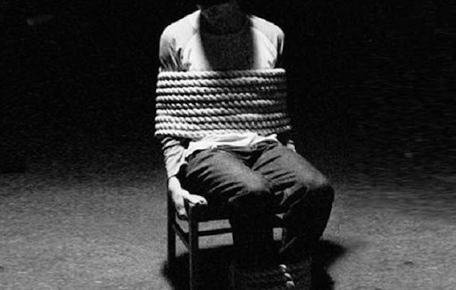 ألوان الخوف و التعذيب