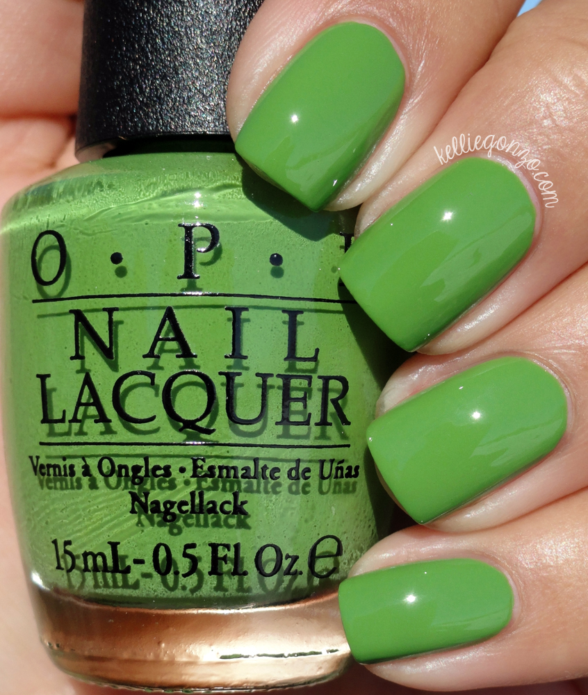 KellieGonzo: OPI Spring 2016 New Orleans Collection Swatches & Review