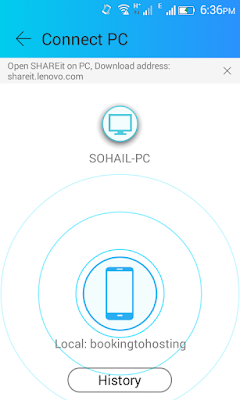 SHAREiT Fastest File Transfer-Connect To PC