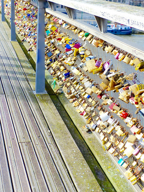 pont des arts cadenas paris blog