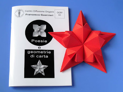 Origami, Booklet QQM 60 and Stella di cuori - Star of hearts by Francesco Guarnieri