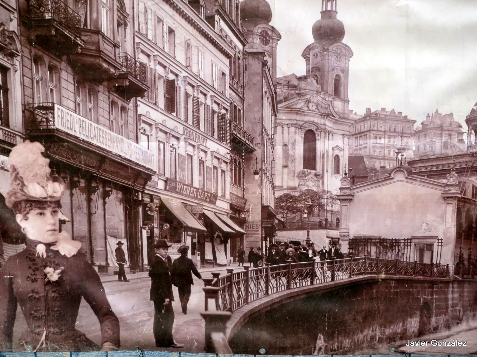 Karlovy Vary. Balneario de la Emperatriz Sisí