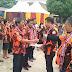 Pelantikan Pemuda Pancasila Kabupaten Samosir Dukung Rapidin Simbolon-Juang Sinaga