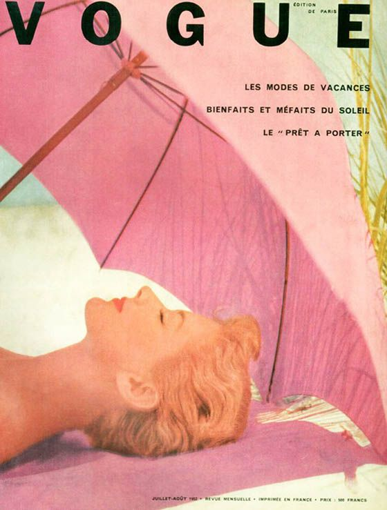 Vintage Vogue Paris cover - fashion blog