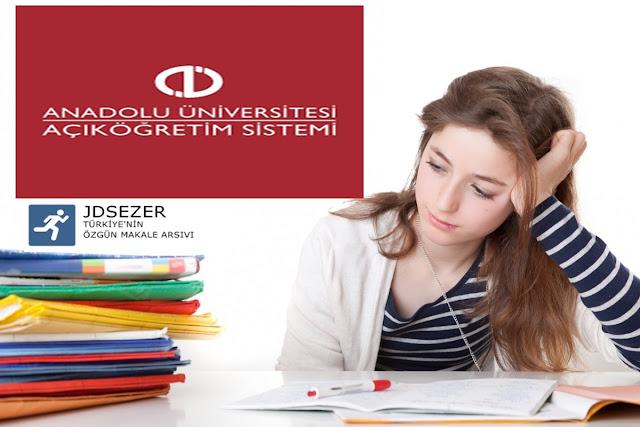 anadolu üniversitesi sınav sistemi