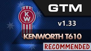 ats - gtm team kenworth t610 v1.33