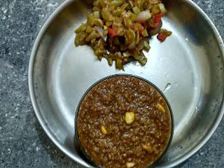 Bamboo rice Pongal, Snake Gourd poriyal