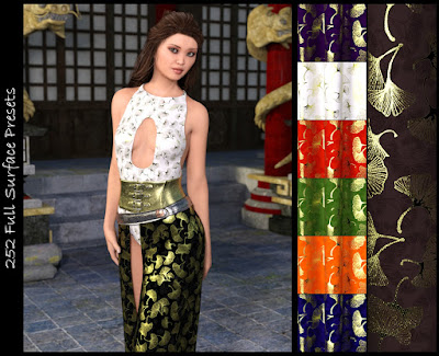 DG Iray Fabrics of Asia Shaders