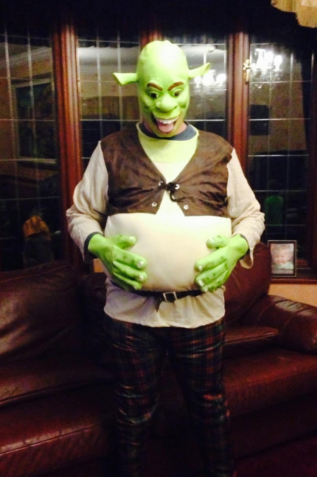 Shrek Halloween Outfit