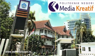 Daftar Jurusan dan Program Studi POLIMEDIA Politeknik Negeri Media Kreatif