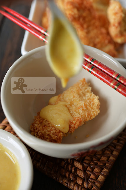 easy butter salted duck egg yolk sauce fried chicken