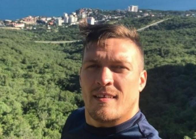 Боксер Александр Усик дразнит свидомитов: «Крым это Крым. А вы терпилы и скот рогатый…»