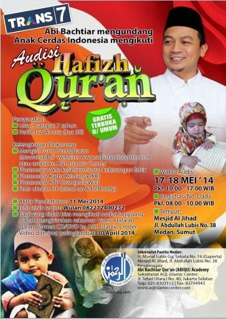 Audisi Hafizh Quran