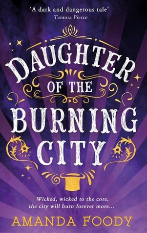 Daughter of the Burning City by Amanda Moody
