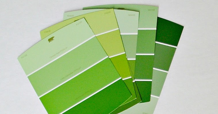 Paint Chip Gift Tags A Casarella