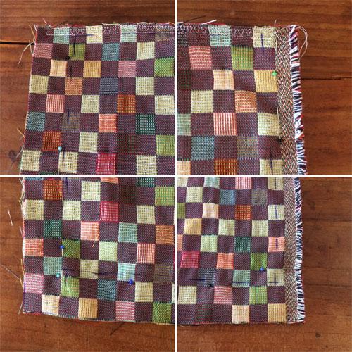 hoeskussen zelf naaien