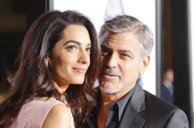 amal clooney george clooney twins