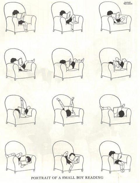 les lectures de prosp ryne les positions de lecture. Black Bedroom Furniture Sets. Home Design Ideas