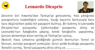 Leonardo Dicaprio - Temel Fıkraları - Komikler Burada
