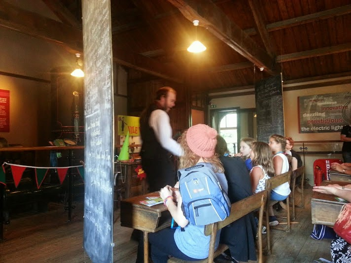 Warwick Castle Review - Vile Victorians classroom