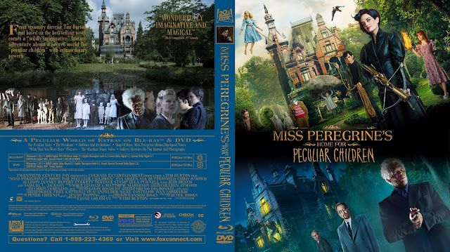 Miss Peregrines Home For Peculiar Children Bluray Cover